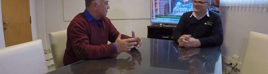 Entrevista en el programa Martín Bustamante TV